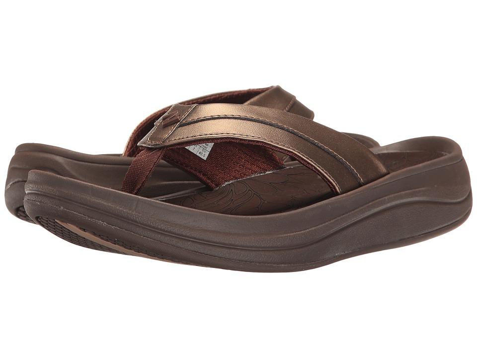 New Balance - Revive Thong (Bronze) Women's Sandals