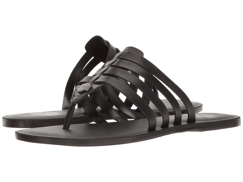 Harley-Davidson - Mckee (Black) Women's Sandals