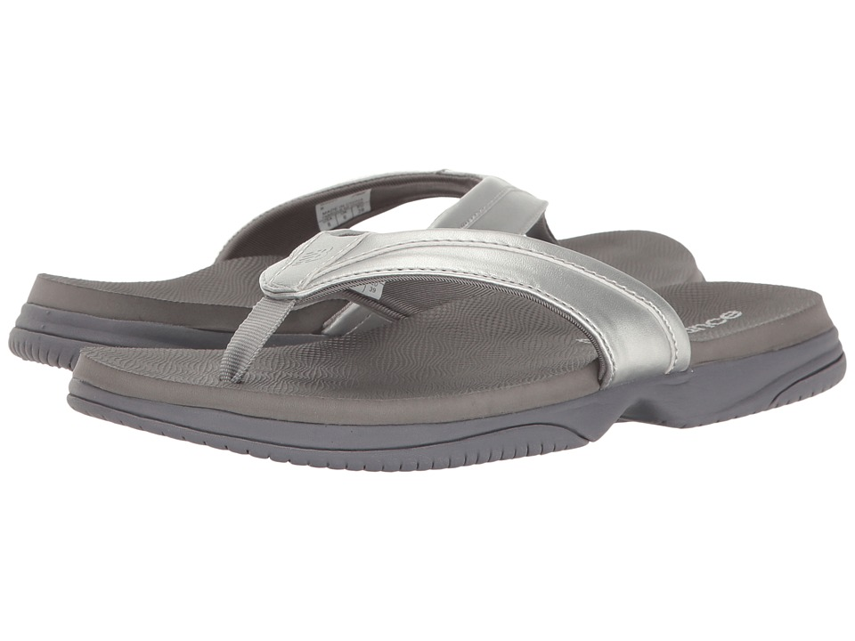 New Balance - JoJo Thong (Silver) Women's Sandals