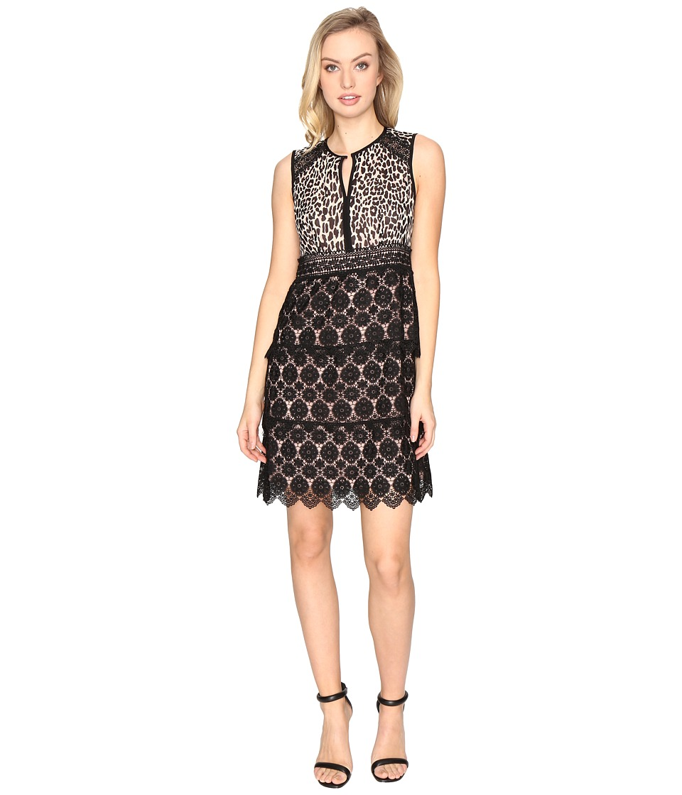 Nanette Lepore Amaretto Shift Dress (Leopard) Women