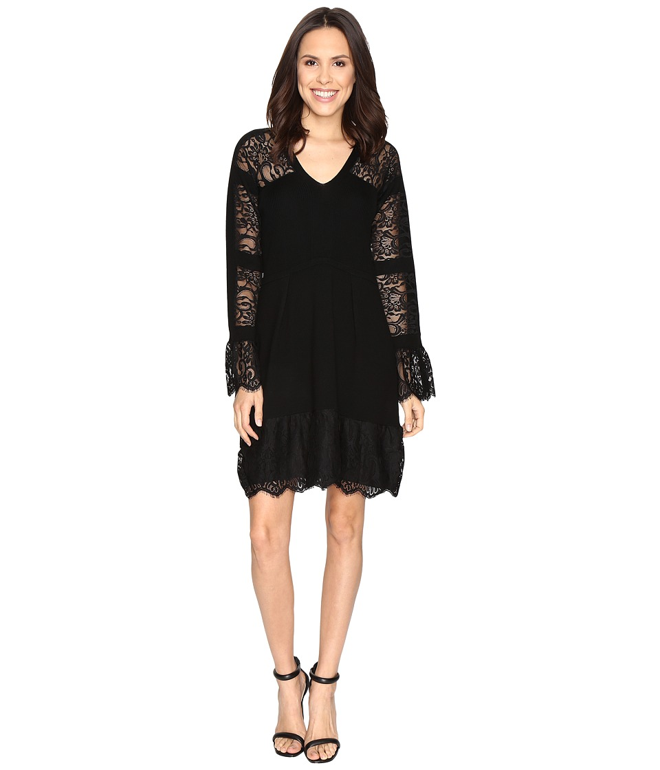 Nanette Lepore - Firenze Frock (Black) Women's Dress