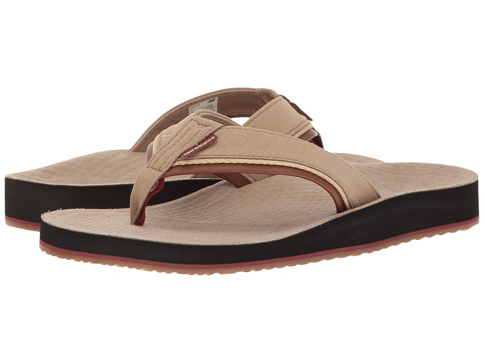 New Balance - Purealign Foundation Thong (Brown) Men's Sandals