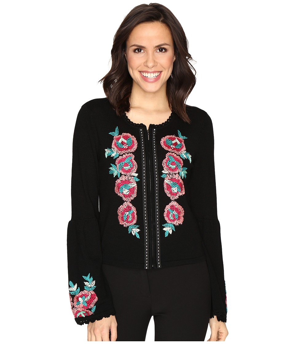 Nanette Lepore - Capri Cardi (Black) Women's Sweater