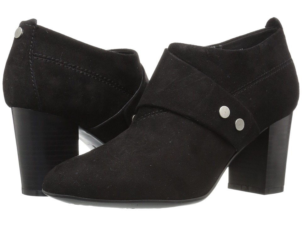 Easy Spirit - Aldea (Black Suede) Women's Shoes