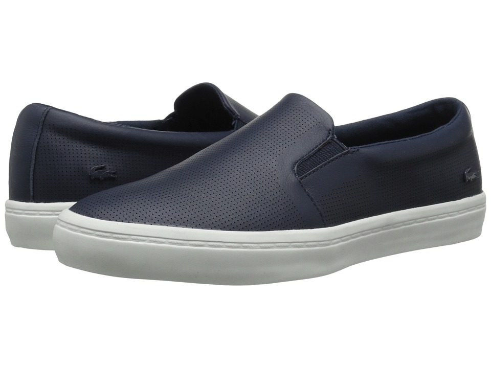 Lacoste Gazon Slip-On (Navy) Women