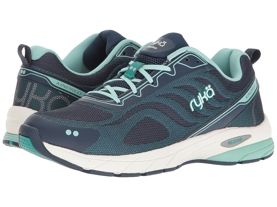 Ryka Kindred (Insignia Blue/Tropical Green/Yucca Mint) Women