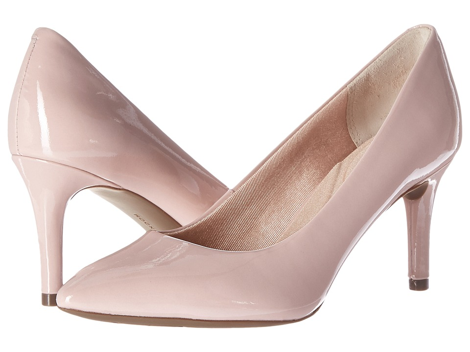 Rockport - Total Motion 75mm Pointy Toe Pump (Pale Mauve Patent) High Heels