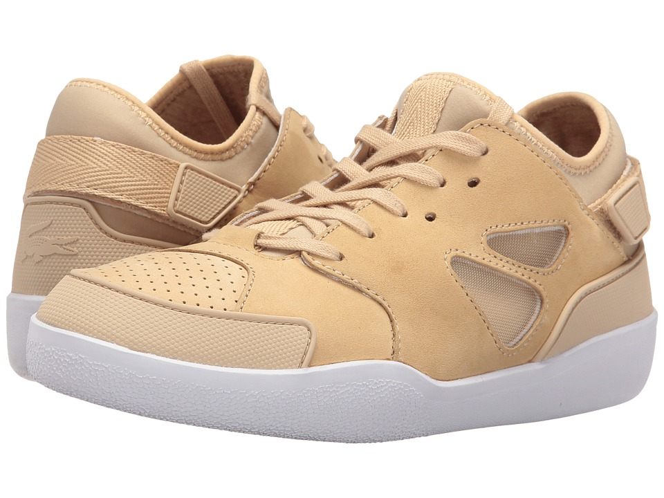 Lacoste Inca (Light Tan) Women