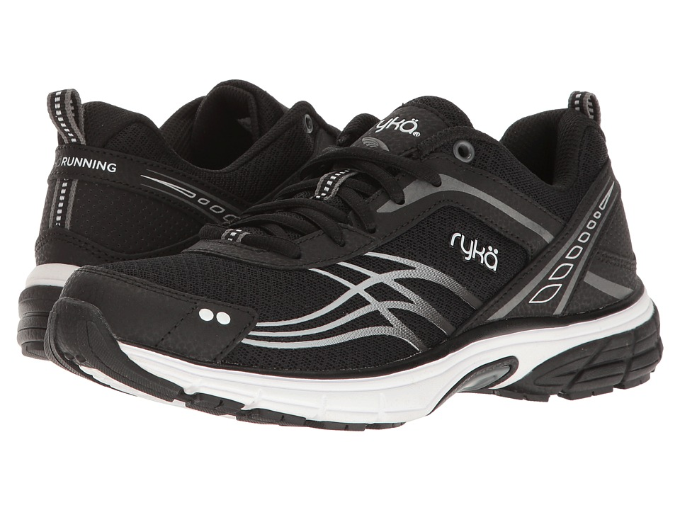 Ryka - Phoenix (Black/Meteorite/White) Women's Running Shoes