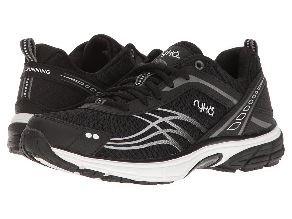 Ryka - Phoenix (Black/Meteorite/White) Women's Running Shoes