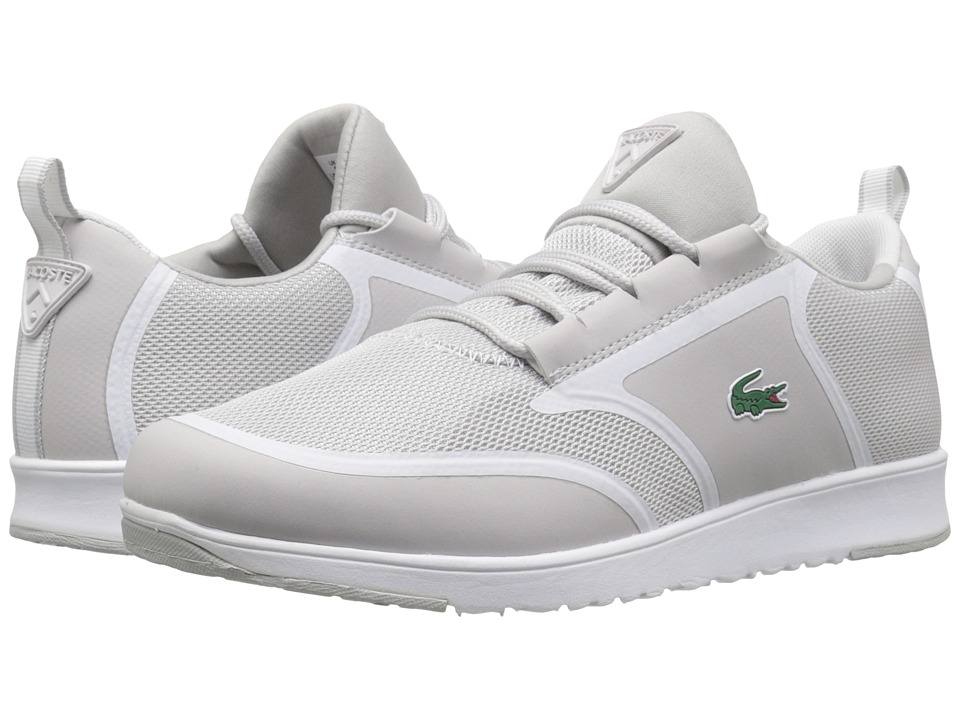 Lacoste - L.ight (Light Grey/White) Women's Shoes