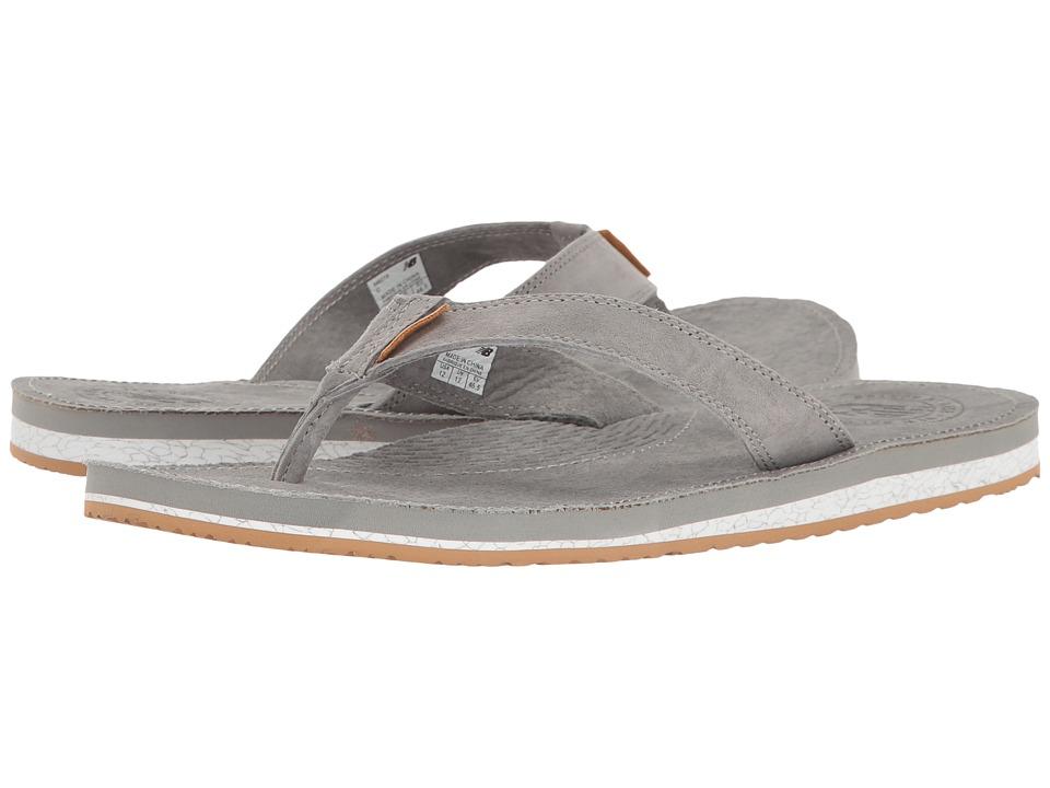New Balance - Classic Thong (Grey/Gum) Men's Sandals