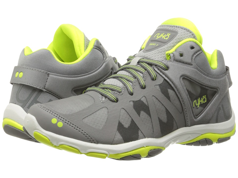 Ryka Enhance 3 (Frost Grey/Summer Grey/Lime Shock) Women