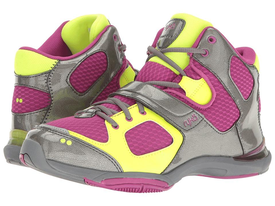 Ryka - Tenacious (Vivid Berry/Meteorite/Lime Shock) Women's Running Shoes