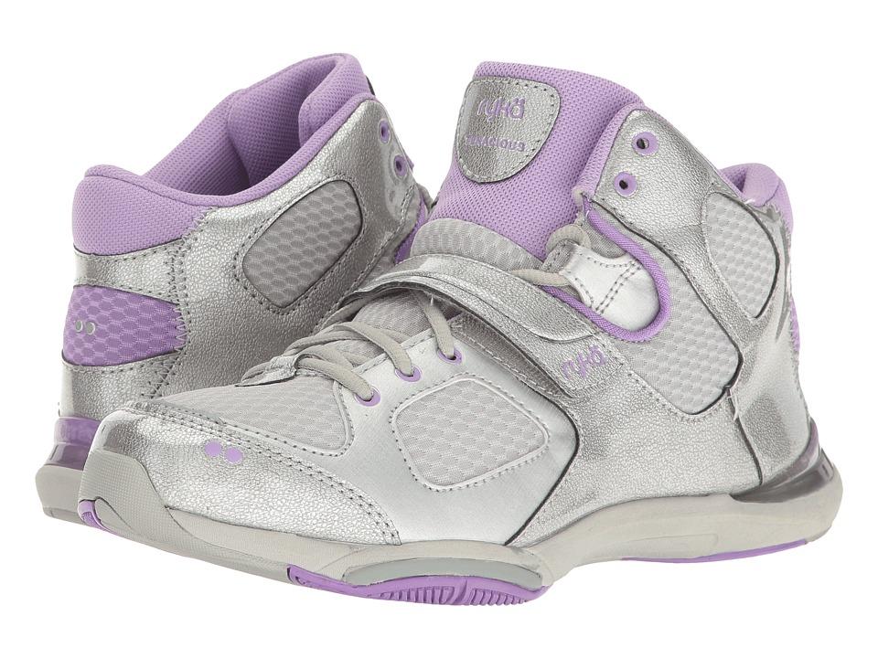 Ryka - Tenacious (Chrome Silver/Purple Ice) Women's Running Shoes