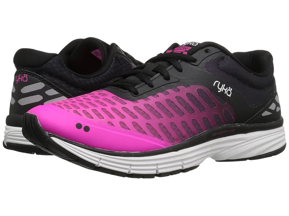 Ryka - Indigo (Black/Athena Pink) Women's Shoes