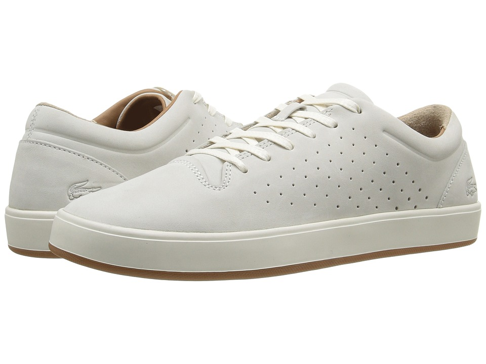 Lacoste - Tamora Lace-Up (Off-White) Women's Shoes