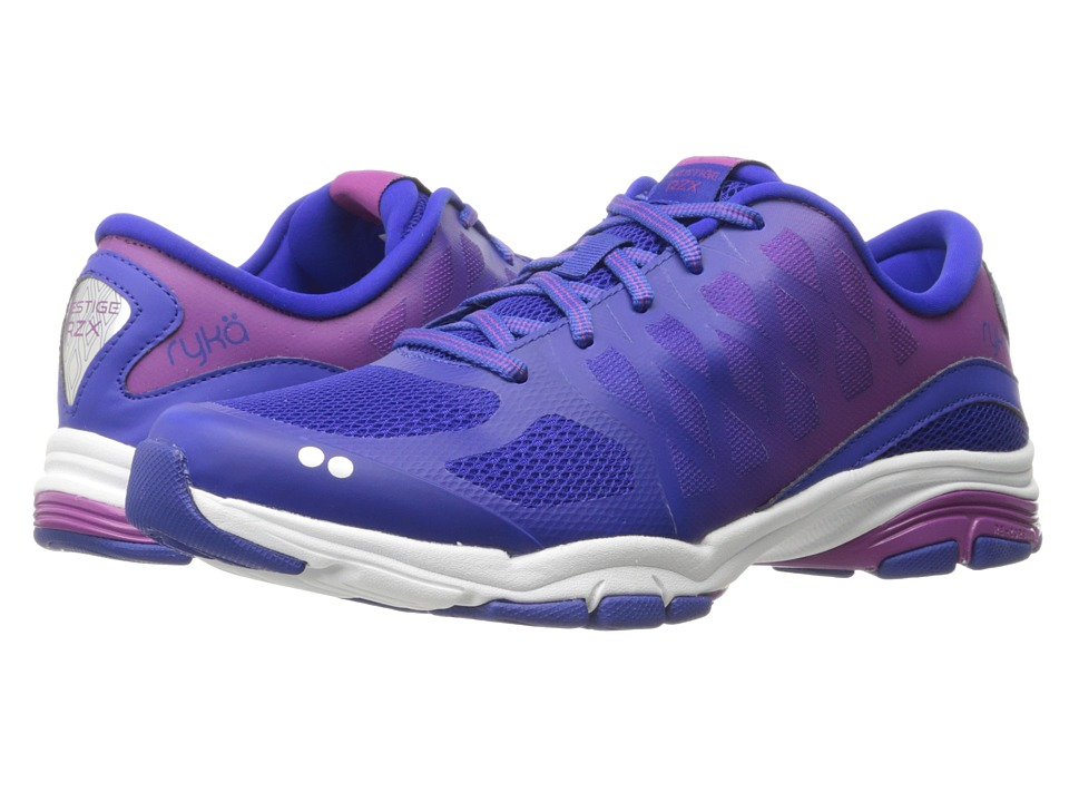 Ryka - Vestige RZX (Insignia Blue/Vivid Berry/Chrome Silver) Women's Cross Training Shoes