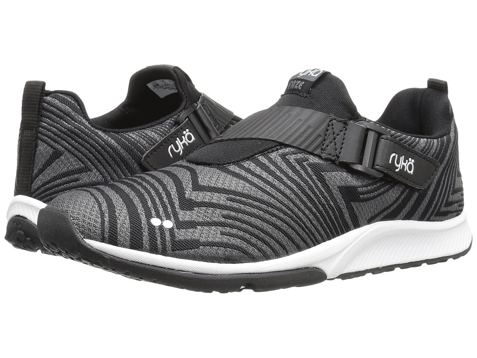 Ryka - Faze (Black/Iron Grey/White) Women's Cross Training Shoes