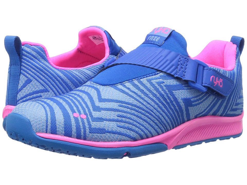 Ryka - Faze (Starry Night/Elsa Blue/Neon Flamingo) Women's Cross Training Shoes