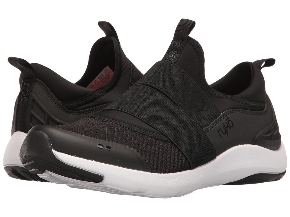 Ryka - Elita (Black/Chrome Silver) Women's Cross Training Shoes