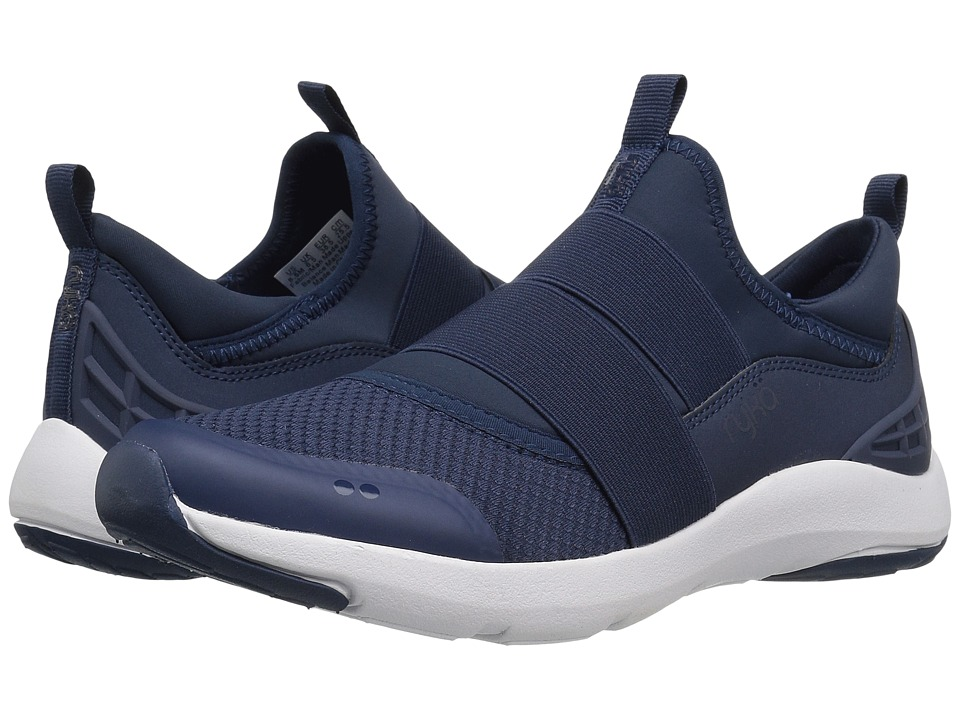 Ryka - Elita (Insignia Blue/Elsa Blue/Chrome Silver) Women's Cross Training Shoes