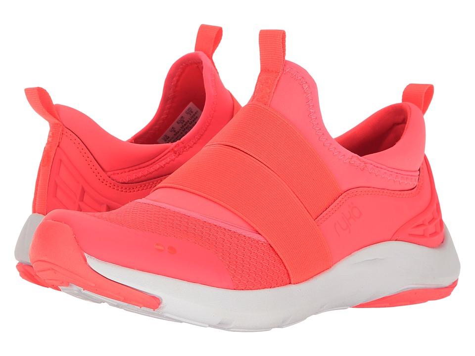 Ryka - Elita (Nalu Coral/Chrome Silver) Women's Cross Training Shoes