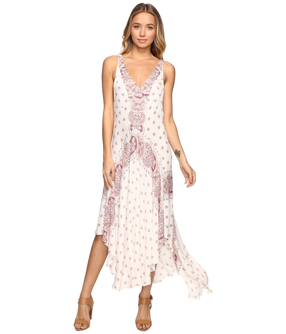 Free People - Faithfully Yours Slip (Neutral) Women's Dress