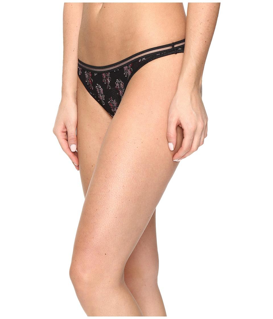 Free People - You Pretty Thing Bikini Bottoms (Black) Women's Underwear