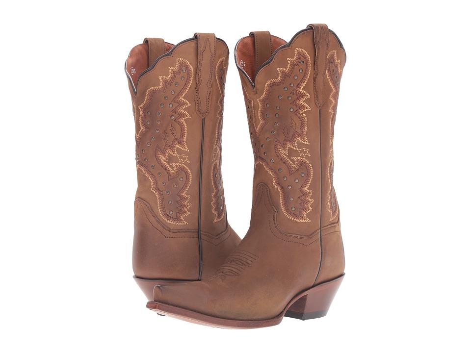 Dan Post Arin (Tan) Cowboy Boots