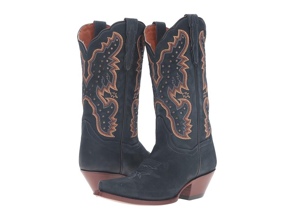 Dan Post Arin (Black Blue) Cowboy Boots
