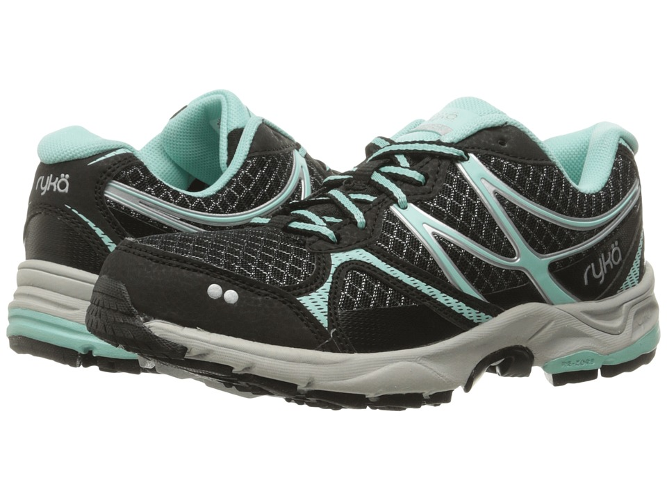 Ryka - Revive RZX (Black/Yucca Mint/Chrome Silver) Women's Shoes