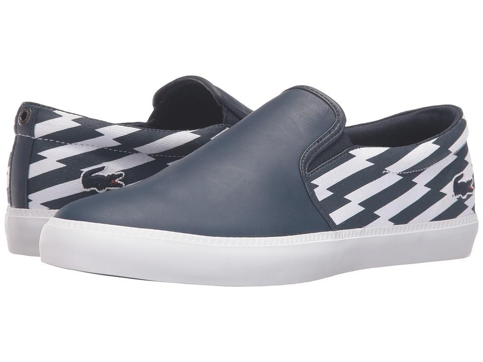 Lacoste - Gazon (Dark Blue) Men's Shoes