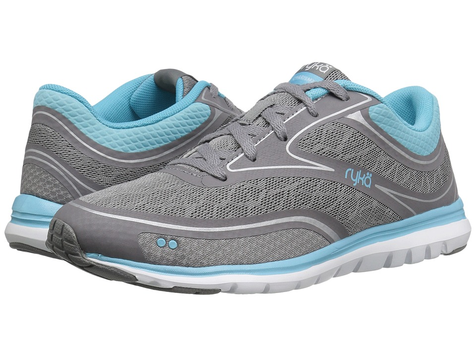 Ryka Charisma (Frost Grey/Nirvana Blue/Chrome Silver) Women