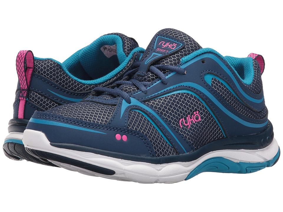 Ryka - Shift (Jet Ink Blue/Malibu Teal/Pink) Women's Shoes