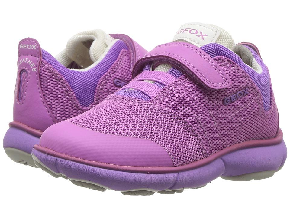 Geox Kids - Jr Nebula Girl 2 (Toddler/Little Kid) (Fuchsia) Girl's Shoes