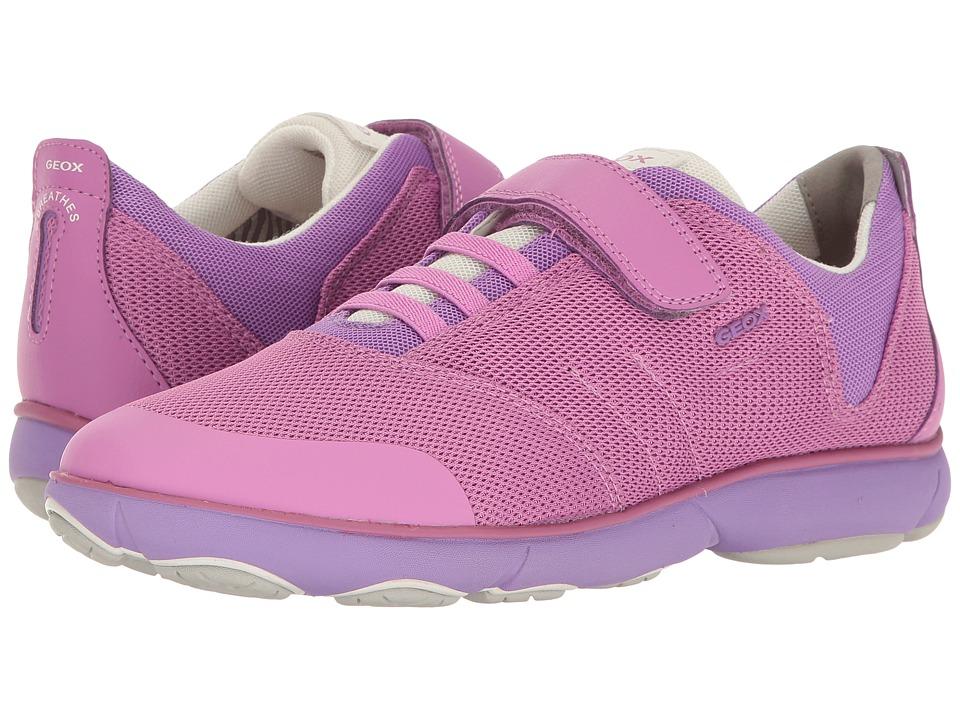 Geox Kids - Jr Nebula Girl 2 (Big Kid) (Fuchsia) Girl's Shoes