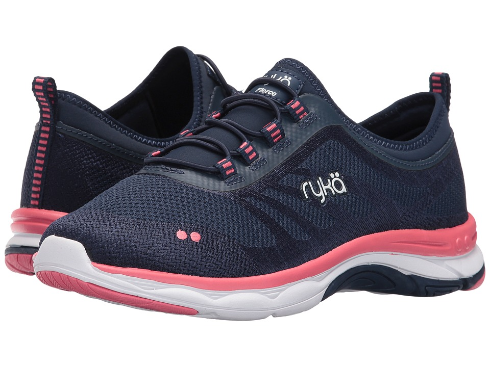 Ryka Fierce (Insignia Blue/True Navy/Calypso Coral) Women
