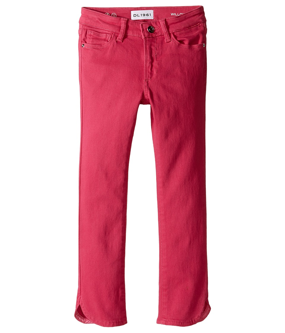 DL1961 Kids - Willow Cropped Straight Pants in Blossom (Toddler/Little Kids) (Blossom) Girl's Casual Pants