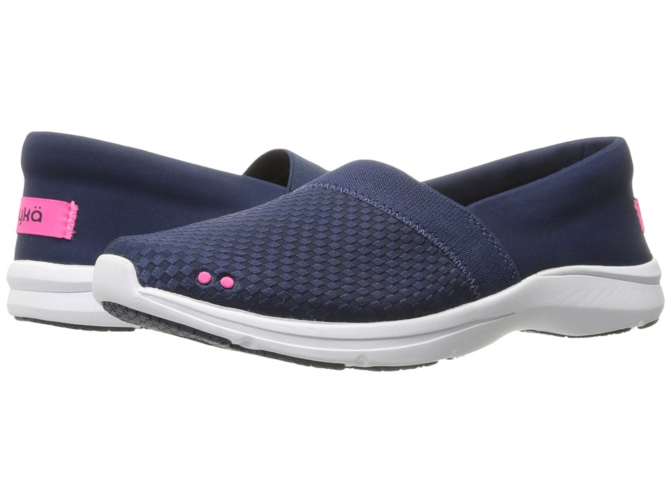 Ryka - Sea Shore SR (Insignia Blue/Neon Flamingo) Women's Shoes