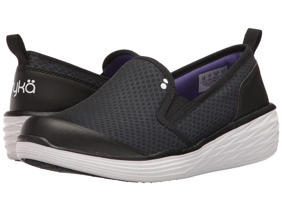 Ryka - Neve (Black/Ultra Violet/White) Women's Shoes