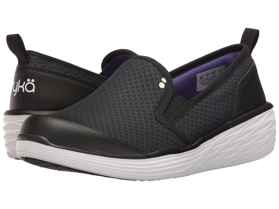 Ryka - Neve (Black/Ultra Violet/White) Women's Shoes