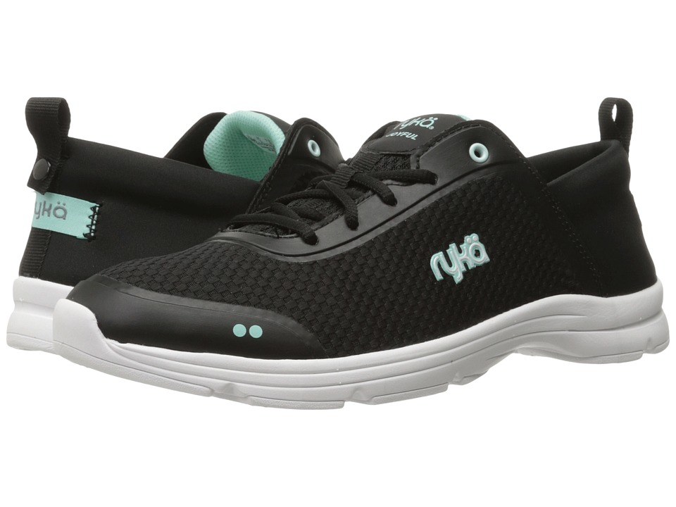 Ryka - Joyful (Black/Yucca Mint/Meteorite) Women's Shoes