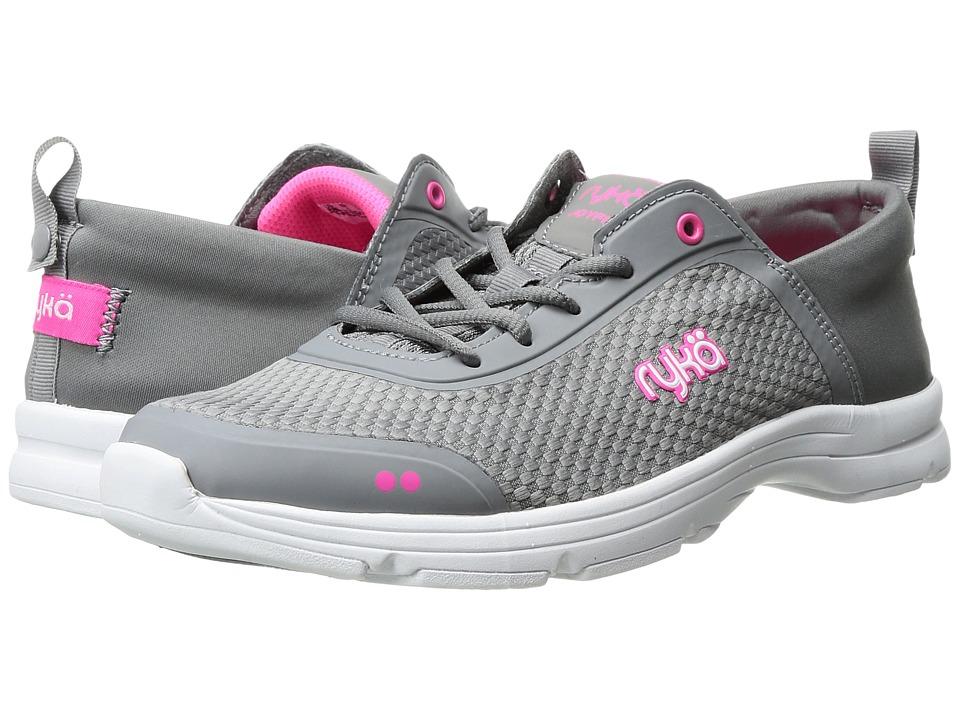 Ryka - Joyful (Frost Grey/Neon Flamingo) Women's Shoes