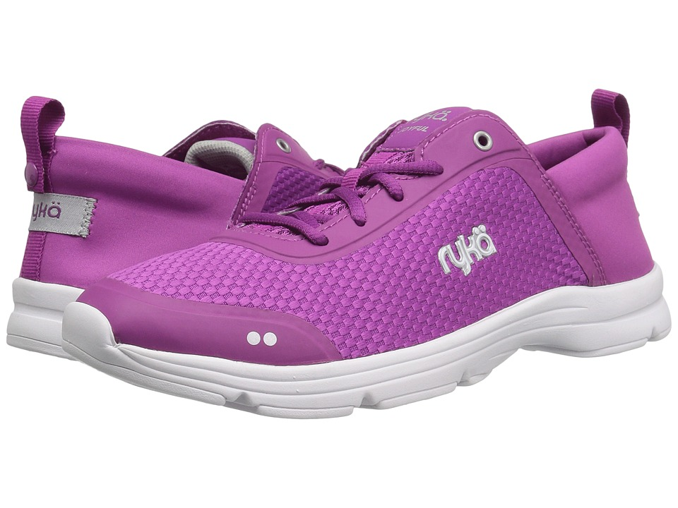 Ryka Joyful (Vivid Berry/Grape Juice/Chrome Silver) Women