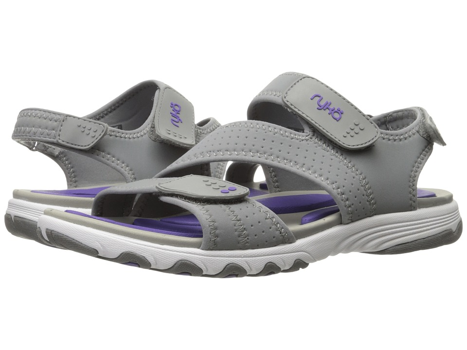 Ryka - Dominica (Frost Grey/Ultra Violet) Women's Shoes