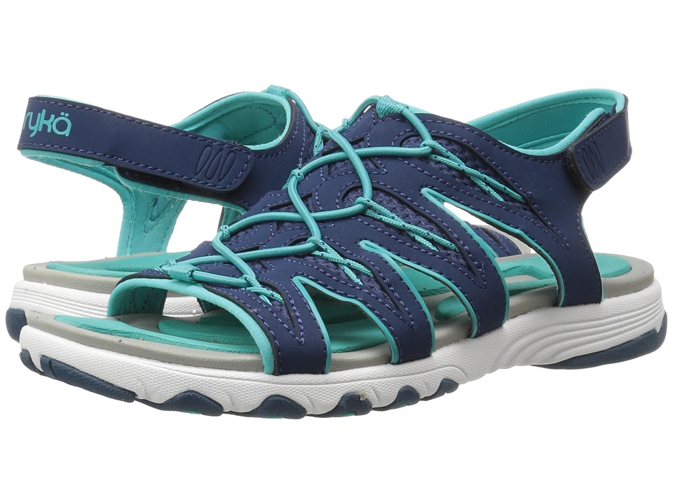 Ryka - Glance (Insignia Blue/Teal Blast) Women's Sandals