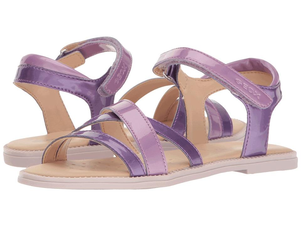 Geox Kids - Jr Sandal Karly Girl 11 (Little Kid/Big Kid) (Light Violet/Lilac) Girl's Shoes