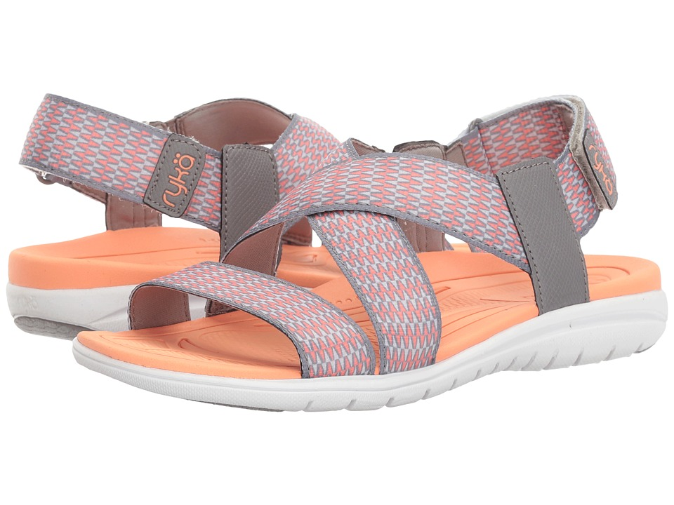 Ryka - Belmar (Frost Grey/Summer Grey/Desert Coral) Women's Shoes
