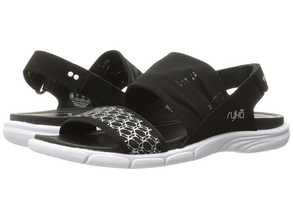 Ryka - Rodanthe (Black/Chrome Silver) Women's Shoes